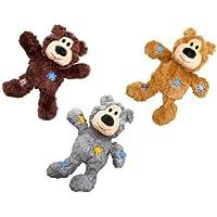 Kong Wild Knots Squeaker Bear for Dogs, Small/Medium, Colors Vary by Kong (English manual)