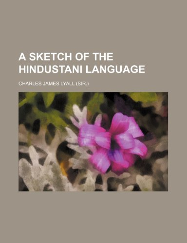 A sketch of the Hindustani language