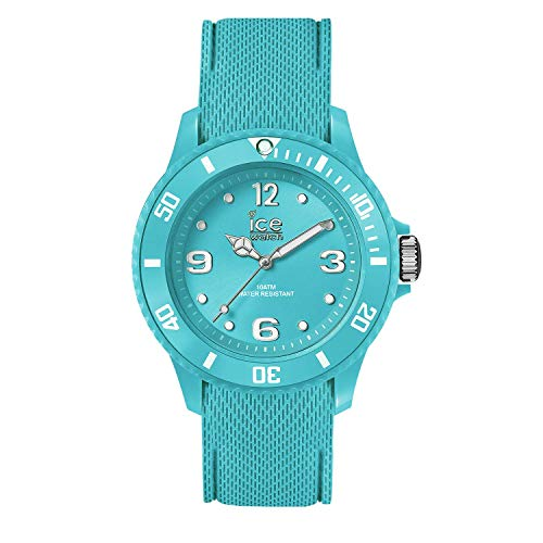 Ice-Watch - Ice Sixty Nine Turquoise - Türkise Herrenuhr mit Silikonarmband - 014764 (Medium)