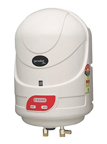 V-guard Sprinhot Plus 6-litre Water Heater (ivory)
