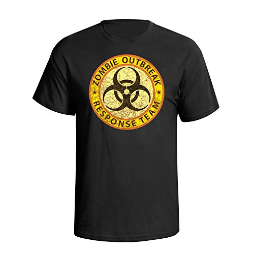 Zombie Outbreak Response Team Military Mens Herren Fit T-Shirt - Herren Response Team T-shirt