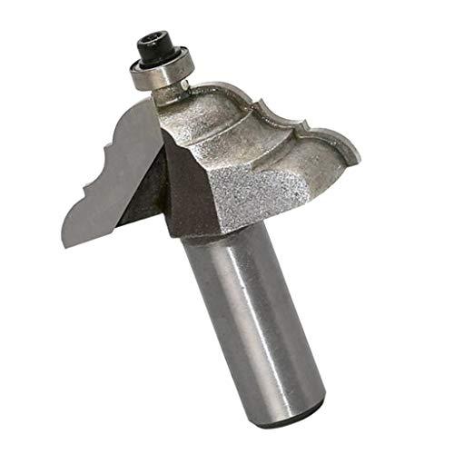 Fenteer Nutfräser Router Bit Roman Ogee Holzbearbeitung Werkzeug Schneidwerkzeug mit 12,7mm Schaft - Roman Ogee Bit
