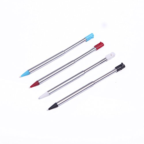 rlen versenkbarem Metallic Touchscreen Eingabestift Pack Für Nintendo 3DS Handheld Gaming Systems ()