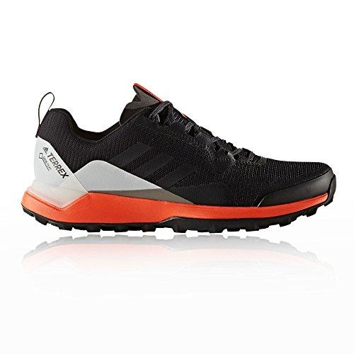 adidas Terrex Cmtk GTX, Chaussures de Randonnée Basses Homme, XXL Multicolore (Negbas / Negbas / Energi)