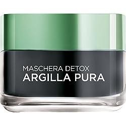 L'Oréal Paris Argilla Pura Maschera Viso Detox, 50 ml