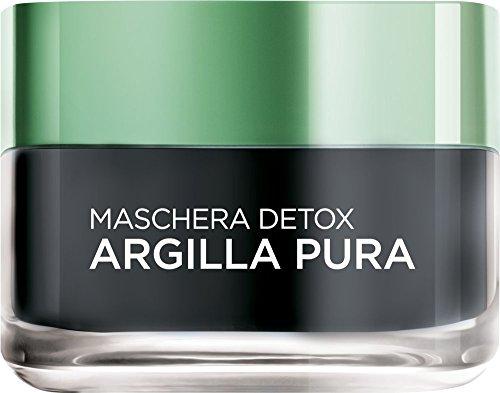 L'Oréal Skin Expert Paris Maschera Viso Detox Argilla Pura, 50 ml