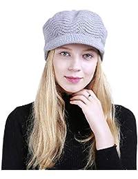 Yuson Girl Cappelli Invernali per Le Ragazze delle Donne Calde Calza  Cappello di Sci di Neve a4c5aaa973ec
