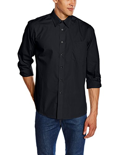 Fruit Of The Loom SS103M, Camisa para Hombre, Negro (Black), XXX-Large