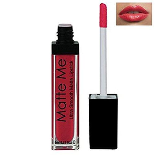 ADS Matte Me Ultra Smooth Lip Cream (Peach Red, 415, ADS-415)
