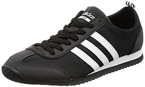Adidas Schuhe VS Jog Herren core black-footwear white-utility black (BB9677), 42 2/3, schwarz
