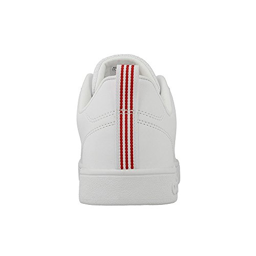 adidas Advantage Clean Vs, Sneaker Uomo footwear white-footwear white-scarlet (BB9653)