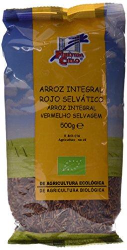 La Finestra Sul Cielo Arroz Integral Rojo - Paquete de 6 x 500 gr - Total: 3000 gr