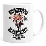 MoonWorks Geburtstags-Tasse Club Der Alten Schachteln Geschenk-Tasse für ältere Frauen Kaffee-Tasse Runder Geburtstag MC weiß Unisize