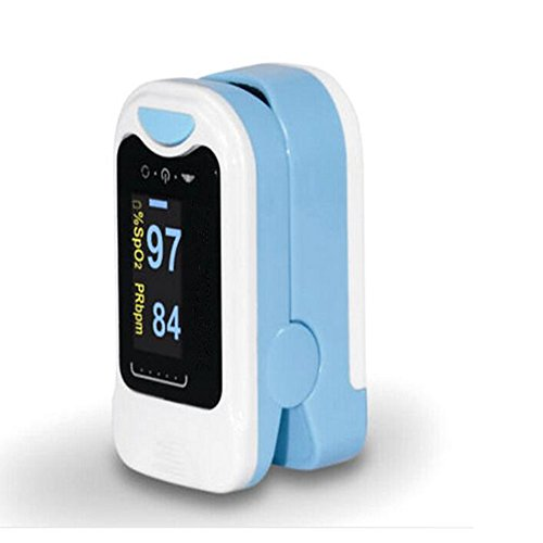Finger Pulsoximetrie Detektor Pulsoximeter Pulsmesser Hause