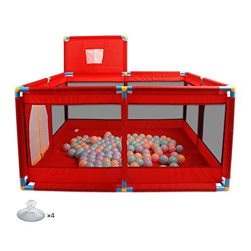 YNN Cerca de Seguridad para niños, Plegable portátil de 4 Paneles, Juego...