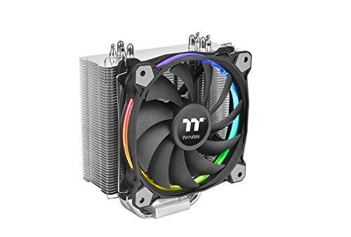 Thermaltake Riing Silent 12 RGB Sync Edition CPU-Kühler (kompatibel mit ASUS, Gigabyte, MSI, Asrock und Biostar)