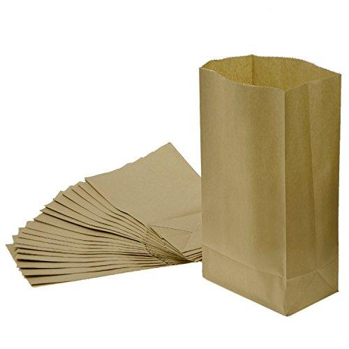 Braun Einkaufstüte Kraftpapier Papiertragetaschen (XL)