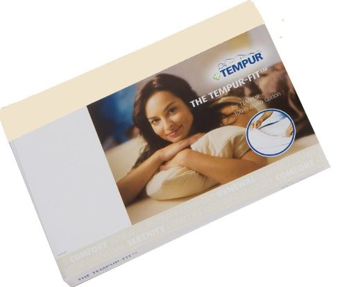 TEMPUR® Jersey-Bezug für SCHLAFKISSEN Sonata S/M beige