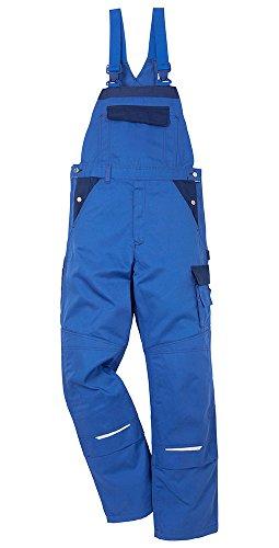 Kansas Icon Arbeitshosen Latzhosen Service Industrie 2-873, Farbe:kornblau/marine;Größe:54