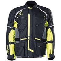 Modeka TOUREX Textiljacke Touring - schwarz gelb Größe 3XL