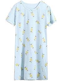 Niñas Camisetas De Pijama Fruta Impresión Manga Corta T Shirts Vestido Camisón