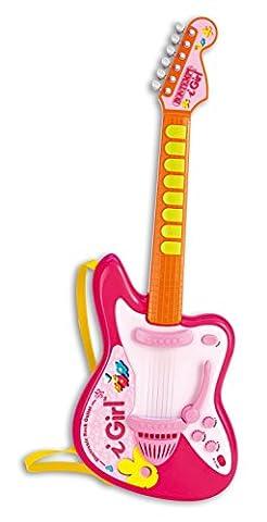 Bontempi GE 6871I-girl Guitare Rock électronique avec des effets de lumière