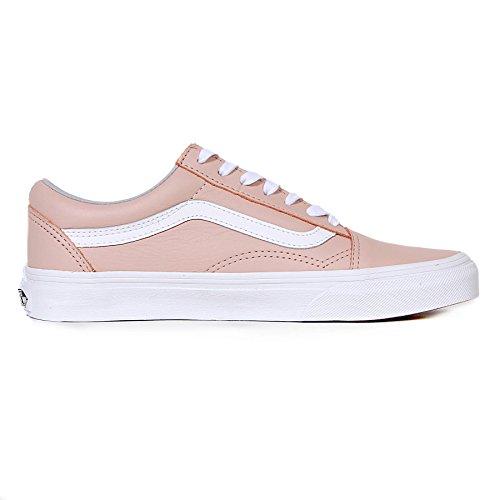 Vans Damen Old Skool Sneakers Pink (Leather)