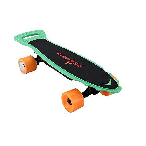 YZ Monopatín eléctrico Longboard Skate, 20 mph de Velocidad máxima, 18 Millas de Rango máximo 200W Streetboard Cruiser, Motor de...