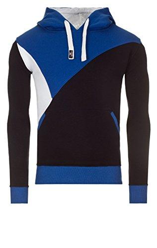 WOOSAH Herren Sweatshirt Shaco navy / white / blue (4038)