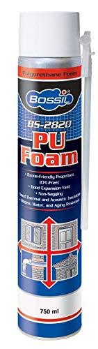 Bossil USA Expandable PU Foam 750 ML