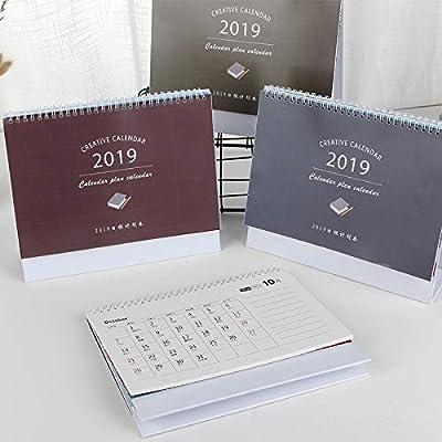 Calendario Escritorio Simple Calendario Calendario Personalidad Creativa Unidireccional de SMAQZ