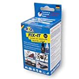 ATG FIX-IT - Industrial Adhesive for Home Use, Heat Resistant and Waterproof - Superglue with Black Powder.