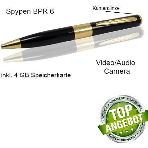Espionaje Pen Spy Pen cámara Bolígrafo + 4GB MicroSD