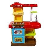 """deAO Kinder-Küchenspielset """"My Little Chef""""(""""Mein kleiner Koch"""") mit 30-teiligem Zubehör in den Farben Rot oder Pink erhältlich - 10"""