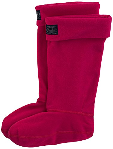 Tom Joule Damen Welton Socken, 100 DEN, Pink (Ruby Rubypnk), 36/37 (Herstellergröße: 3-4) - Rosa Wellies