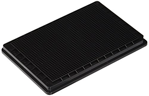 Mikrotiterplatten BRANDplates, 1536-well, pureGrade?, PS, schwarz, Standard, F-Boden, unsteril