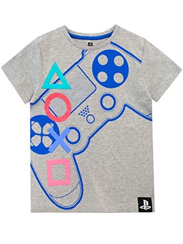 Playstation Jungen T-Shirt Grau 158