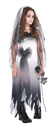 Braut Teen Kostüm - M Teen Friedhof Braut Kostüm für Zombie Kostüm Outfit