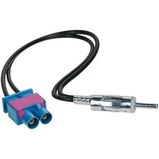 ACV 1524-09 DIN Doppel Fakra Antennenadapter für Audi/Seat/Skoda/VW