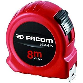 60% de réduction liquidation à chaud produits de qualité Mètre à ruban 8m boîtier ABS largeur 25mm FACOM 893B.825PB ...