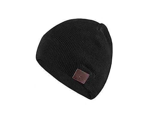 Color You Cuffia Bluetooth Beanie Music Hat Cappello Invernale Lavabile con Cuffia Stereo con Altoparlante Stereo per la Corsa, Sci, Pattinaggio, Regali di Natale per Uomo Donna (Style 2)