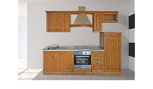 Cucine Componibili Miele Catalogo.Arredamenti Rustici Cucina Rustica In Legno Massello L255