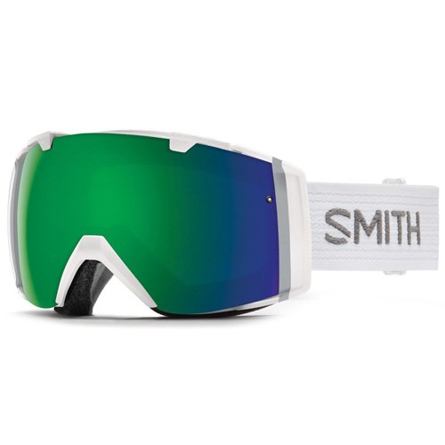 Smith I/O Skibrille, ChromaPop Sun Grün/Weiß, One Size