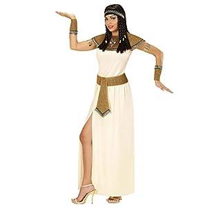 WIDMANN wdm67703?Disfraz para adultos Cleopatra, blanco, L