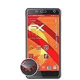 atFolix Schutzfolie passend für Oukitel K4000 Pro Folie, entspiegelnde & Flexible FX Bildschirmschutzfolie (3X)