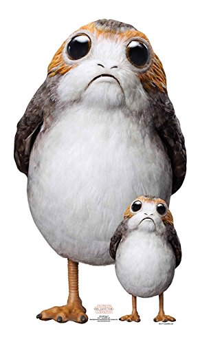 d Up) Star Wars The Last Jedi Porg (72 cm) ()