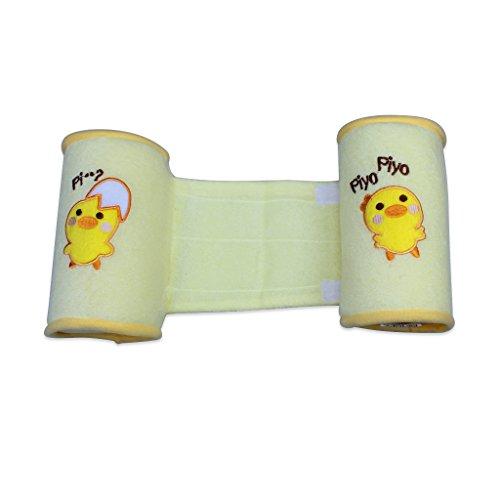 Edealing Bequeme Baumwollschlinger Pillow Baby-Kleinkind-sicherer Cartoon Schlaf-Kopfträger Anti-Rollover-Pack Of 2