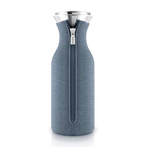 Eva Solo Kühlschrankkaraffe 1,0l Woven Steel blue Blue Karaffe