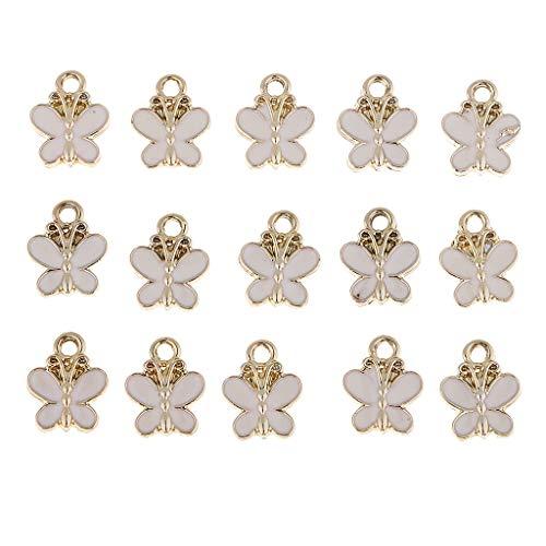 12 X 10 Mm De Cobre Antiguo Mariposa Colgante cuentas de orificio superior Pack tamaño opciones