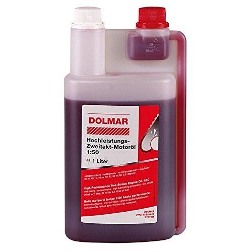 Dolmar 980008112 2-Takt-Motoröl 1:50 1 Liter Dosierflasche